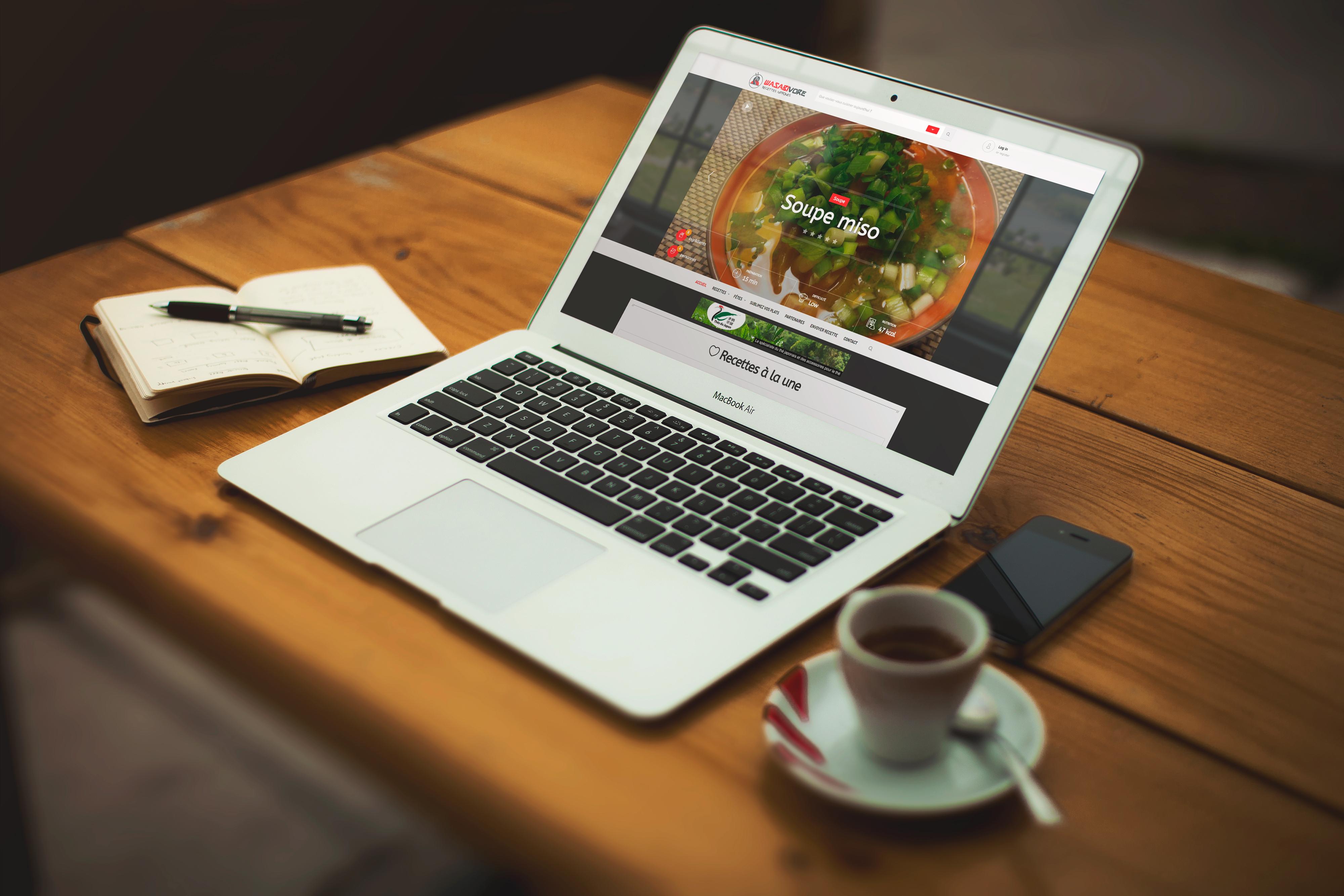site-internet-wasabivore-laptop-mockup